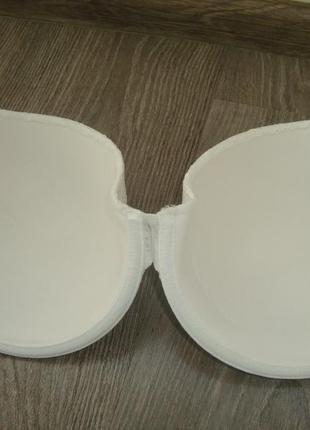 H&m-85d-белый кружевной бюстгальтер3 фото
