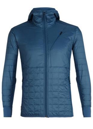 Куртка/кофта icebreaker men's merinoloft™ helix long sleeve zip hood