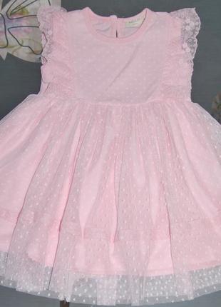 Нарядное кружевное платье breeze евросетка