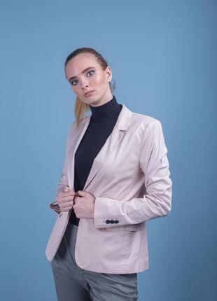 Пиджак коттон -  от h&m. шикарный цвет! премиум качество!