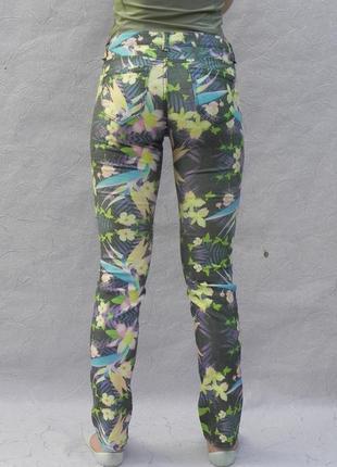 Брюки брючки штаны джинсы яркие цветные оригинальные tally weijl m/l3 фото