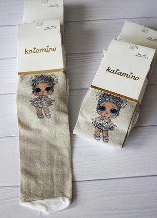 Крутые колготки лол колготы для девочки lol сетка 2-3 года katamino катамино