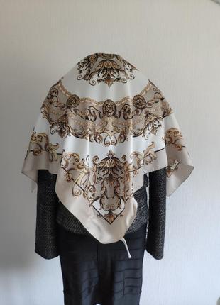 e32df200eab8 Женские шарфы с принтом H&M 2019 - купить недорого вещи в интернет ...