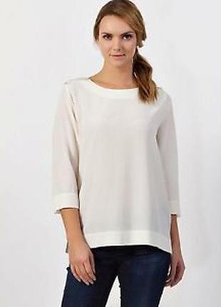 Шелковая блуза от lacoste
