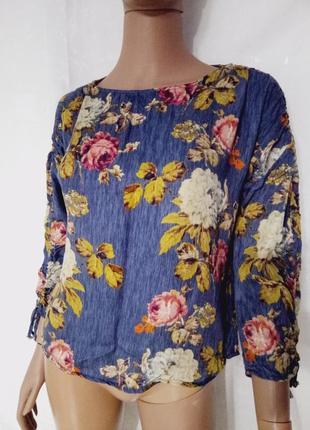 Блуза очень красивая, меланж цвет