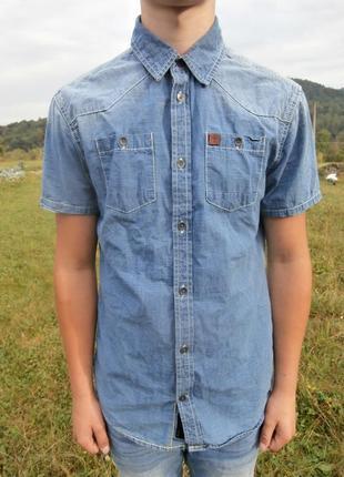 Стильна джинсова сорочка cult edition