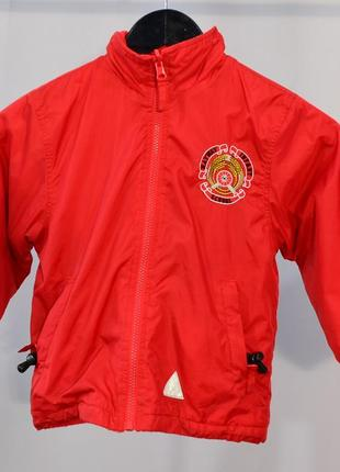 1781\30 двухсторонняя куртка красного цвета noname 4\5 л