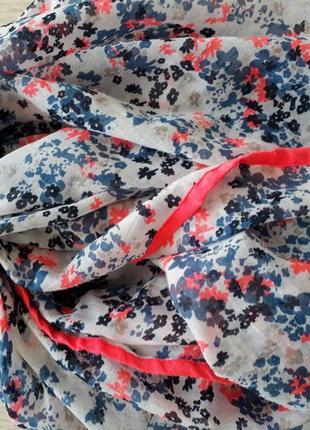 Лёгкий шарф хомут