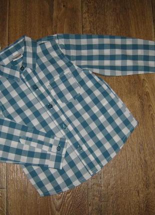 Рубашка  1,5-2 года  ladybird  93 грн