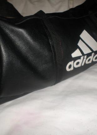 Спортивная или дорожная сумка из нат.кожи