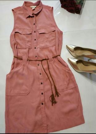 Актуальное платье рубашка нс