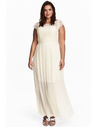 Шикарное вечернее, свадебное, подвенечное, выпускное платье h&m.
