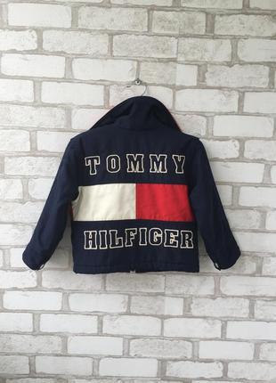 Очень крутая винтажная курточка tommy hilfiger
