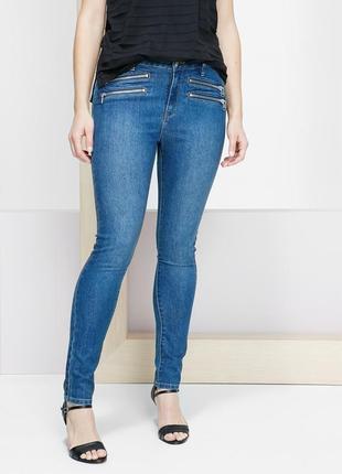 Брендовые джинсы скинни для пышной фигуры