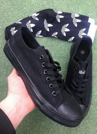 Кеды - allstar (черные)