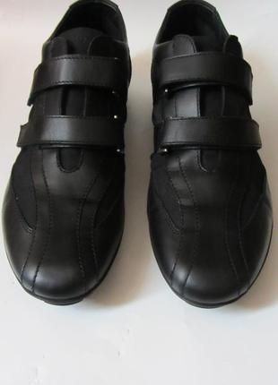 Чоловічі мокасини-туфлі geox.