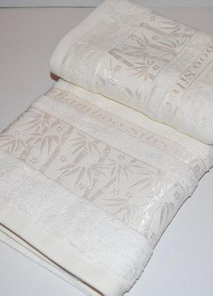 Набор бамбуковых турецких полотенец philippus. lux-класс.