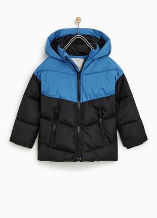 Куртка стеганая zara р. 122, 7 лет оригинал детская,курточка