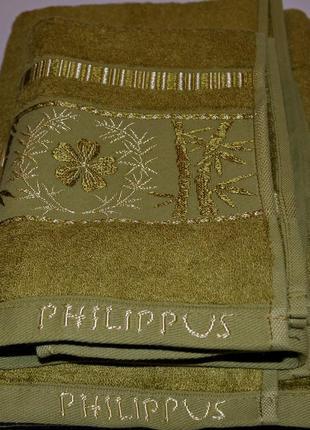 Набор бамбуковых полотенец philippus lux-класс (много цветов!)