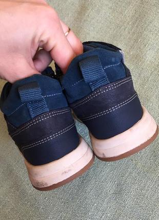 Деми ботинки clarks кожа р.253 фото