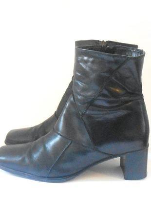 Кожаные удобные ботинки clarks, р 39 код f3947