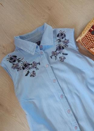 Блуза с вышивкой select,рубашка с вышивкой