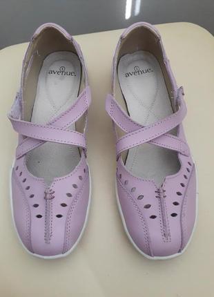38 38,5 р. avenue. коданые удобные туфли