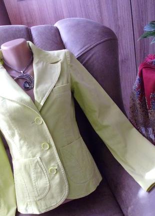 H&m пиджак рр 34 xs хлопок