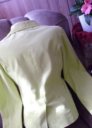 H&m пиджак рр 34 xs хлопок3 фото