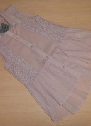 Нарядная блузка, блуза туника tu 7 лет, 122 см, оригинал