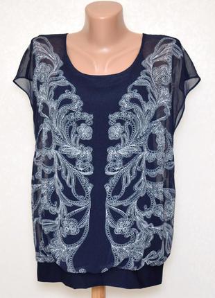 Шифоновая блуза minuet petite размер xl