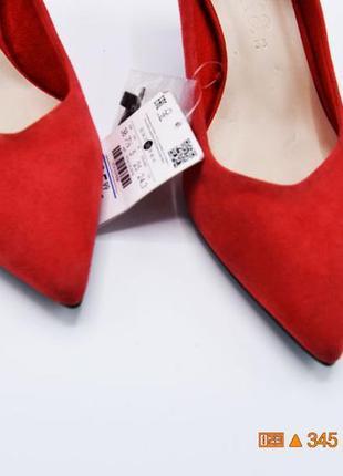 38 р замшевые туфли классические bershka4 фото