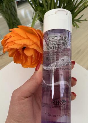 Мицелярная вода kiko milano для нормальной и сухой кожи