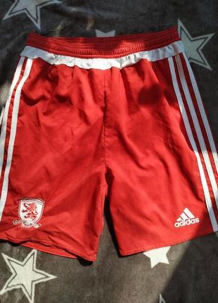 Спортивные футбольные шорты adidas оригинал