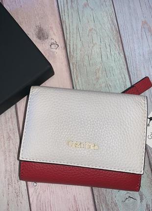 Кожаный кошелёк calvin klein1 фото