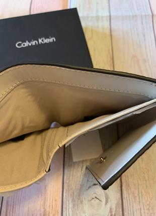 Кожаный кошелёк calvin klein4 фото