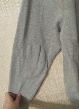 Крутое худи толстовка серого цвета в винтажном стиле размер l5 фото