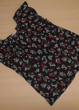 Нарядная блузка блуза h&m, 7-8 лет, 122-128 см,оригинал