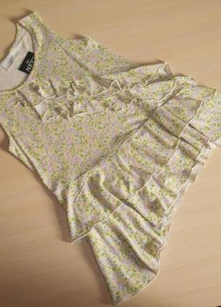 Футболка, блуза блузка туника next, 8 лет, 128 см, оригинал