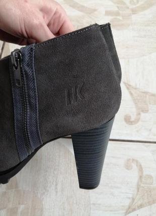 Ботильоны ботинки натуральный замш женские 39рр vera pelle5 фото