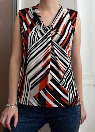 S - vip! calvin klein! оригинал! серийн.n – стильная блузка – новая