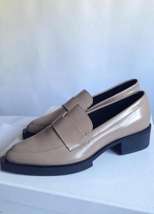 Кожаные лоферы #кожаные туфли selected femme (дания)