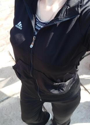 Костюм черный adidas