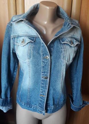 Крутая джинсовка куртка