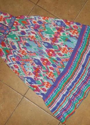 Нарядное платье, сарафан monsoon, 9 лет, 134 см, оригинал