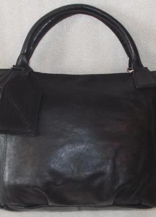Большая сумка *cowboysbag* номерная натуральная кожа