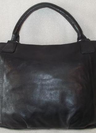 Большая сумка *cowboysbag* номерная натуральная кожа2 фото