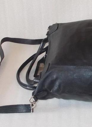 Большая сумка *cowboysbag* номерная натуральная кожа3 фото