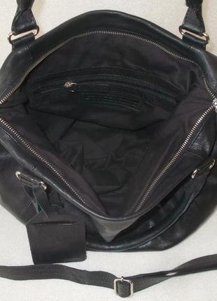 Большая сумка *cowboysbag* номерная натуральная кожа6 фото