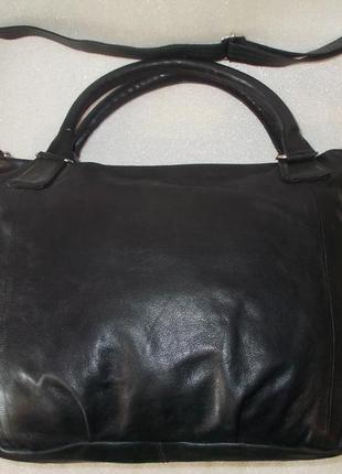 Большая сумка *cowboysbag* номерная натуральная кожа8 фото